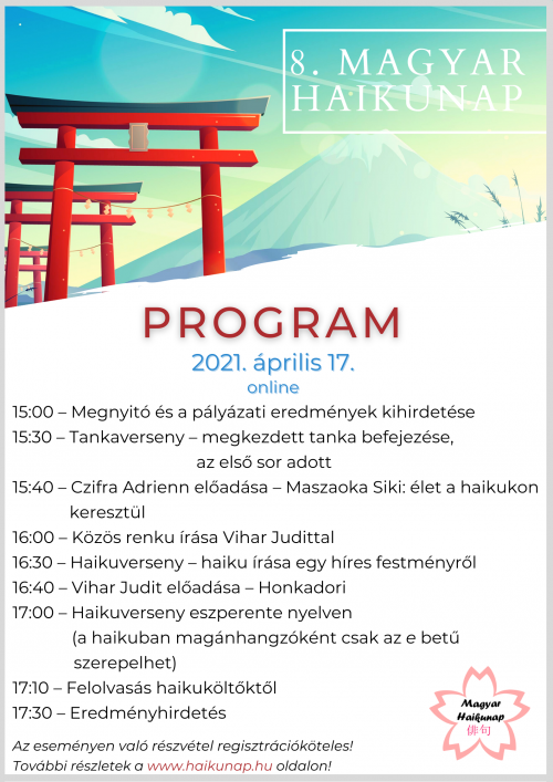 8. Magyar Haikunap program